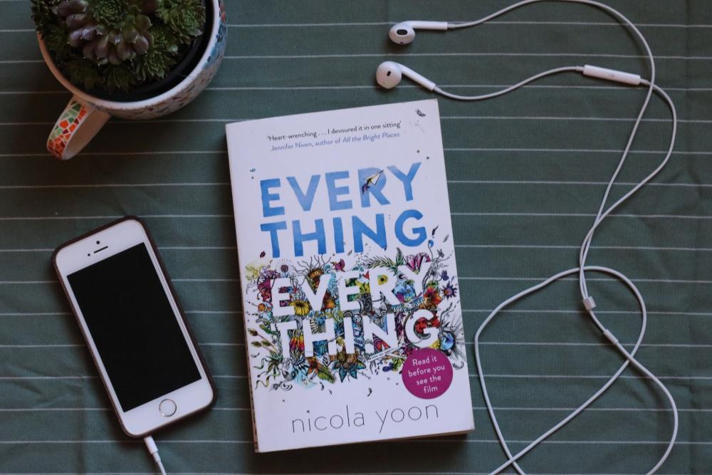 boekrecensie, recensie, boeken, lezen, lifewithanchors, everythingeverything, everything, nicola yoon,