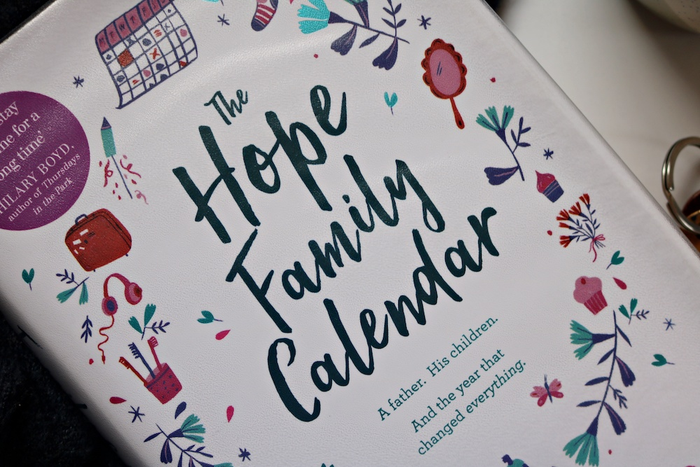 hope family calendar, boekrecensie, recensie, boeken, lezen, lifewithanchors, mike gayle